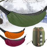 Кемпинг Гамак Underquilt На открытом воздухе Winter Down Warm Sleeping Сумка Портативная складная крышка гамака