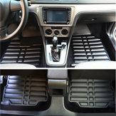 3шт искусственная кожа полный корпус Авто напольный коврик передний задний вкладыш Водонепроницаемы для Kia Optima 2011-2016