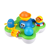 CIKOO Baby Fountain Bath Toy para crianças Douche Kids Electric Floating Spraying Water Cartoon Toys