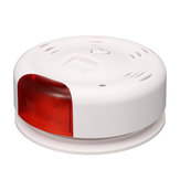 Bakeey Independent Smoke Sound and Light Alarm Wireless WIFI Sensor Tuya Smart Life APP Remote Push