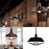 Retro Vintage E27 Fixture Industriële Loft Bar Hanger Lichte Plafond Lamp Kroonluchter