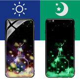 Bakeey 3D Night Luminous szkło ochronne etui ochronne iPhone 6 / 6s