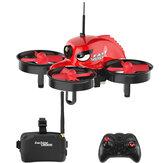 Eachine  E013  マイクロ FPV   レーシング      クワッドコプター  w/ 5.8G 1000TVL 40CHカメラ   VR006 VR-006 3インチ    ゴーグル