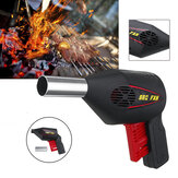 Hand Crank BBQ Fan Air Blower Powered Fire Bellows Camping Picnic Cooking Tool