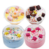 Donut Slime Chocolate Candy Cotton Mud Cloud Clay 100ml Decompression Toys