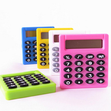 Pocket Cartoon Mini Calculator Handheld Pocket نمط Coin Batteries Calculator