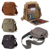 Messenger Tela da uomo Tela Satchel School Messenger Messenger Borsa Pack Pouch Outdoor Travel Hiking