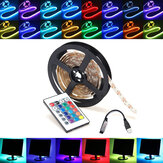 0,5 / 1/2/3/4 / 5M RGB SMD5050 LED Strip Tape Light TV Terug Lighting Kit + USB Remote Control DC5V
