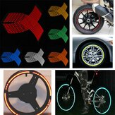 16-18 inch wiel sticker reflecterende velg strip stickers tape voor auto fiets motorfiets