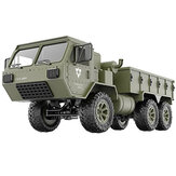 Fayee FY004A 1/16 2.4G 6WD Rc Auto Proportionele Controle US Militaire Truck RTR Model Speelgoed