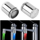 LED Light Czujnik temperatury wody z kranu RGB Glow Shower Stream Shower Shower Faucet