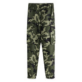 Female camouflage Trousers Fitness Yoga Running Sports Pants