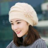 Warm Mother Hat Ladies Thick Knitted Sweater Hat