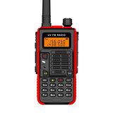 BaoFeng UV-5R Versão esportiva Walkie-Talkie 2-15KM VHF UHF dupla Banda UV 5R Rádio em dois sentidos para rádios de presunto