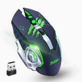 ZUOYA MMR4 Wireless Mouse 2.4GHz Receiver LED Mute Silent Rechargeable USB Gaming Computer Optical Game Mice For Laptop PC Computer