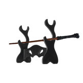 2Pcs Acrylic Plastic Wizarding Wand Twig Display Stand Tool Holder Toy Wizard Magic