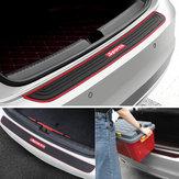 Evrensel Araba Arka Bagaj Eşiği Tampon Guard Koruyucu Lastik Pedi Kapak Şerit