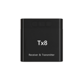 TX8 bluetooth 5.0 Wireless Audio Transmitter Receiver 2-in-1 Car Audio Adapter AUX 3.5mm