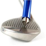 Golfspitzer Wedge Iron Club Cleaner Reinigung Nachschneidwerkzeug UV-Rillen mit Koffer