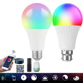 AC85-265V dimmerabile E27 E26 B22 RGB + CW WIFI Smart LED Lampadina APP Controllo colore Variabile Illuminazione domestica