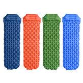 190x56cm Materassi ad aria gonfiabili stampati portatili da esterno campeggio Tappetino singolo con cuscino
