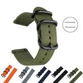 Bakeey 22/24mm Largura Confortável Tela Anti-arranhões Nylon Relógio de Tecido Banda Substituição da Correia para Samsung Gear S3 Huami Amazfit