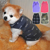 Fleece Winter Hondenkleding Small Large Big Dogs Pet Coats Vest Jacket Pet Warme kleding