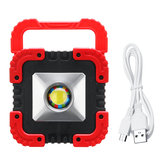 1000LM 50W COB LED solare campeggio Light Outdoor Travel Work lampada Spot Spot