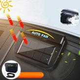 Güneş Enerjisi Taşınabilir Mini Klima Araba Oto Hava Firar Serin Fan Klima