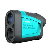 Mileseey PF210 600M LCD Láser Telémetro para caza de golf al aire libre Telémetro infrarrojo de alta precisión Láser