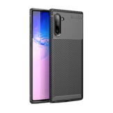 Bakeey Schutzhülle für das Samsung Galaxy Note 10 Slim Carbon Fingerprint Resistant Soft TPU Back Cover