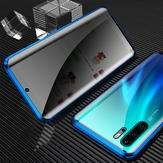 Bakeey Huawei P30 Pro Anti-peeping Magnetic Adsorption Metal 5D Double-sided Tempered Glass Protective Case