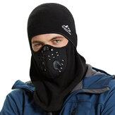 多機能厚く戦術的なフルフェイスマスクサイクリングランニングヘッドバンドスカーフ通気性冬の狩猟帽子