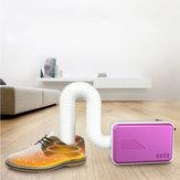 LyRay N9 Portable Électrique Vêtements Sèche-Chaussures Ventilateur Chauffage Chauffe-Lit Vêtement Vêtement Acariens Tueur pour La Maison