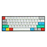 Feker D2 61/108 keys DSA Profile PBT Sublimation Keycap for Anne pro 2 Feker 01 RK 61 60% Mechanical Keyboard