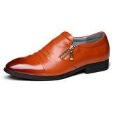 Men Business Leather Soft Formal Shoes