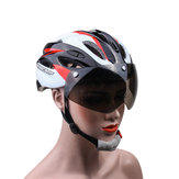 Basecamp Goggles Visor Bicycle Helmet Road Cycling Mountain Bike Adjustable Helmet