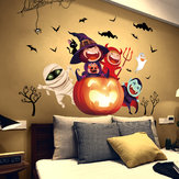 Miico XL890 Cartoon Sticker Hallowen Sticker Removable Wall Sticker Kids Room Decoration