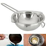 11 cm de manteiga de chocolate em aço inoxidável panela de derretimento pan cozinha tigela de leite caldeira