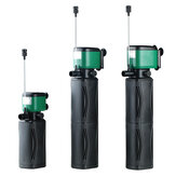 Mute Fish Tank Filter Adjustable Water Submersible Oxygen Pump Replace Sponge 600/1000/1200L/H