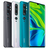 Xiaomi Mi Note 10 Global Version 6,47 pollici Curvo 3D AMOLED 108MP Penta fotografica 30 W Carica rapida 6 GB 128 GB 4G Smartphone