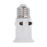 AC100-240V 4A E27 ABS EU-connector Accessoires Lampadapter Lamphouder Voetschroef Lichtvoet