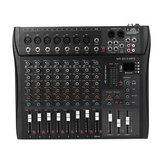 9 Channel 3 Band Professional bluetooth Audio Mixer Console Studio USB DJ Sound Mixing