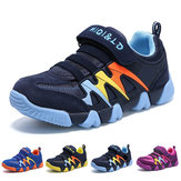 Kid Sports Shoes Running Sneakers Ultralight Breathable Wearable Sneakers Soft Casual Shoes
