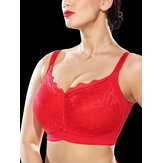 Plus Size Full Cup Coverage No Rims Minimizer Bra