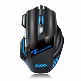 ZUOYA MMR3 bedrade mechanische gamingmuis 7 toetsen 5500 DPI LED optische USB-muismuizen Game Mouse Silent / Sound Mouse voor pc-computer Pro Gamer