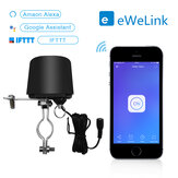 EWelink Smart WiFi Switch Water Valve Controller Home Automation System Gas Water Control Valve Work with Alexa Google