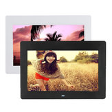 10 Inch HD TFT-LCD Digital Photo Film Frame MP4 Player Alarme Relógio
