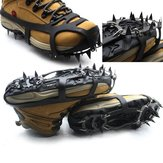 18 Teeth Anti Slip Ice Snow Shoe Spikes Mountaineering Hiking Crampons