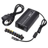 100w universal de AC DC adaptador de cargador con puerto USB y conector mechero dc
